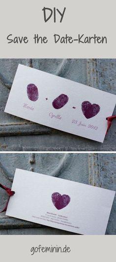 http://www.gofeminin.de/hochzeitsplanung/save-the-date-einladungen-s1742018.html #weddingideas