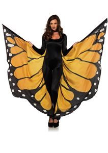 Monarch Butterfly Winged Cape - 372584 | trendyhalloween.com