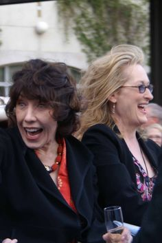Lily Tomlin & Meryl Streep