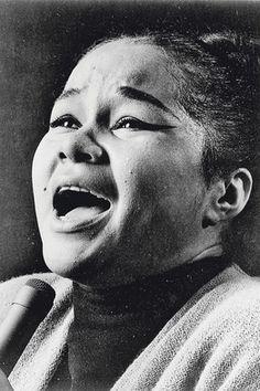 Etta James (1938 - 2012).