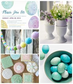Elegant Easter Inspiration Board today on the Tiny Prints Blog. #easter