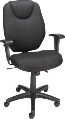 Staples 174 Marken Fabric Mid Back Task Chair Black