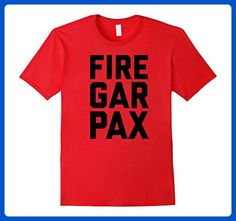 Mens FIRE GAR PAX Angry Chicago Fan Basketball T Shirt Large Red