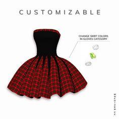 Puffy Skirt, Puffy Dresses, Sims 4 Teen, Sims Cc, Female Shorts, Female Dress, Kids Bathing Suits, Sims Packs, Sims 4 Cc Makeup