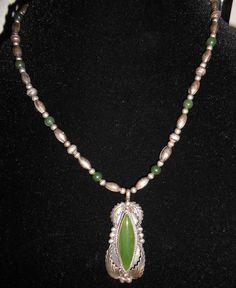 Beautiful Green and Silver Colored Vintage by TreasuresJust4U, $25.00
