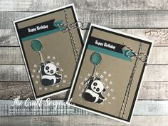 Party Pandas, SAB 2018, Stampin Up