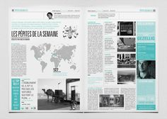 print journal magazine - newspaper - bichromy - edition