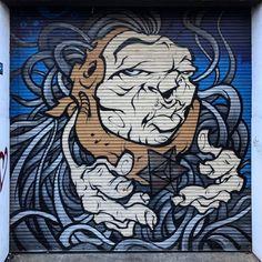Melbourne Street Art | via instagram: @adamsoutham