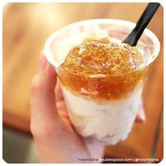 Honeycomb ice cream milkcow korea trend garosugil gangnam www.naomilane.squarespace.com