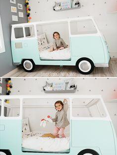 lit combi vw camper van bed chambre pinterest van vw blog et lits. Black Bedroom Furniture Sets. Home Design Ideas