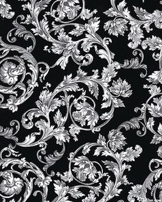 To Rome with Love - Classical Filigree - Black