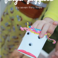 Easy to Make Finger Puppets