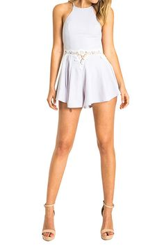 0cad3cfbb1a7 Buy Sassy Floral Lace Crochet Summer Playsuit Dress at Sins   Temptations  for only Rs 1