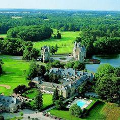 La Bretesche au Pays de la Loire : 10 restaurants au bord de la piscine - Linternaute