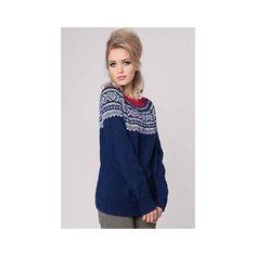 Marius Sweater til damer i strikkemagasin