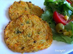 ZonaVegetal: Hamburguesas de Zanahoria y Quinoa
