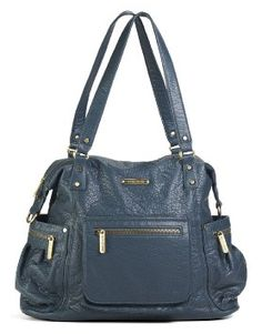Amazon.com: timi & leslie Abby Diaper Bag, Ocean Blue: Baby