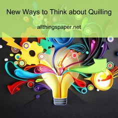 Quilling designs have become modern and even edgy in recent years. See what's new in the world of paper shaping. Quilling Craft, Quilling Designs, Paper Quilling, Quilling Ideas, Spring Into Action, Printer Paper, Head Pins, Paper Background, 2d