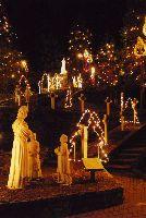 LaSalette Shrine Christmas lights, Attleboro MA