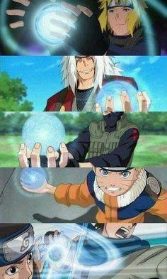 Naruto Shippuden, Those who know Rasengan.