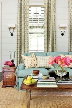 The Ultimate Southern Farmhouse: The Living Room