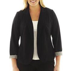 jcpenney.com   Worthington® Essential Open-Front Blazer