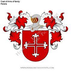 Pereira (Portugal)-History heraldry, coat of arms, genealogy
