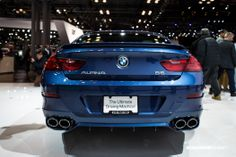 One of my favorite sleeper hits of the show.  Longtime BMW tuning partner Alpina worked their magic to create the 540-horsepower super touring B6.