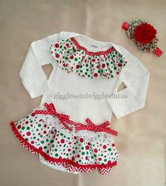 G&Ws new decorative bodysuit is so adorable for babies to wear on Christmas day or a take home outfit for a baby born close to Christmas.