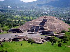 Pyramids en la ciudad de Mexico