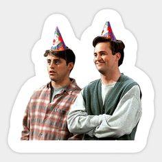 """chandler & joey"" Stickers by swampyak Bubble Stickers, Meme Stickers, Snapchat Stickers, Phone Stickers, Cool Stickers, Printable Stickers, Planner Stickers, Wallpaper Stickers, Aesthetic Stickers"
