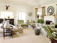 everyone always wants warm colors and a southwest flair - wouldn't it be fun to do shades of evergreen?