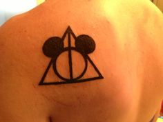 Disney and Harry Potter in one tattoo... LOVE