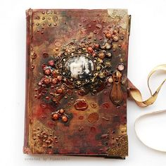 Finnabair: Prima - Altered Book Tutorial  So talented and patient!