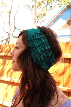 Ear Warmer / Head Wrap - Bamboo Fiber by InnerSunAndMoon
