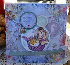 Artfull Crafts: Christine - Mermaid Tales Cards