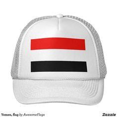 Yemen, flag cap