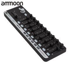 New Arrival! High Quality MIDI Controller Mini USB 9 Slim-Line Control MIDI Controller Portable Controlador MIDI