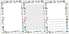 Planets Border Paper Clip Art (page 3) - Pics about space