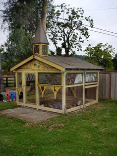 The Chicken Chapel - the mother of all chicken coops-