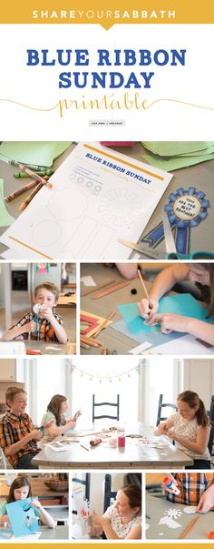 Getting ready for Sunday? Consider this fun activity for kids. #HisDay #LDS