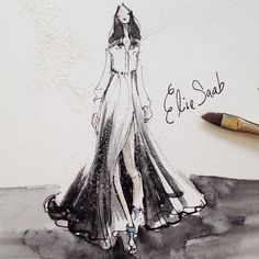 Elie Saab Spring 2015 Follow me on Instagram: @jeanettegetrost