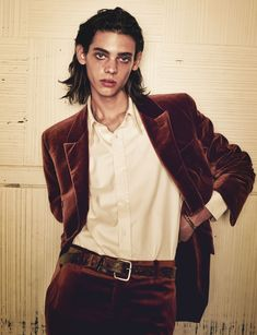 """""""I don't believe in the existence of angeles, but looking at you I wonder if it's true"""" Erin Mommsen photographed Sharif Hamza for Issue 42 of 10 Men..."""