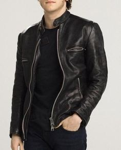 Roger Men Leather jacket