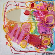 """Saatchi Online Artist: Claire Desjardins; Paint, 2012, Mixed Media """"Persuasion"""""""