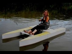 Build a collapsible wooden micro catamaran (overview) - YouTube
