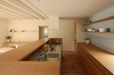 自然に空間を共有する家 - 施工事例 設計事務所とはじめる家づくり・注文住宅・自由設計の[neie(ネイエ)] | 名古屋 一宮 富山 高山