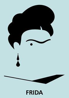 Frida Kahlo - grande história, grande artista, grande mulher!