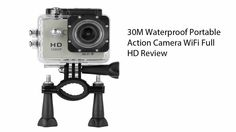30M Waterproof Portable Action Camera WiFi Full HD Review