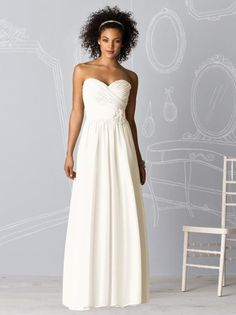 After Six Bridesmaids Style 6610 http://www.dessy.com/dresses/bridesmaid/6610/?color=ivory=114#.UexkuRZ97zJ